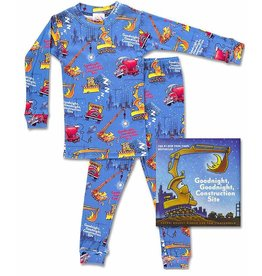 Pajamas w/Book, Goodnight Construction Site