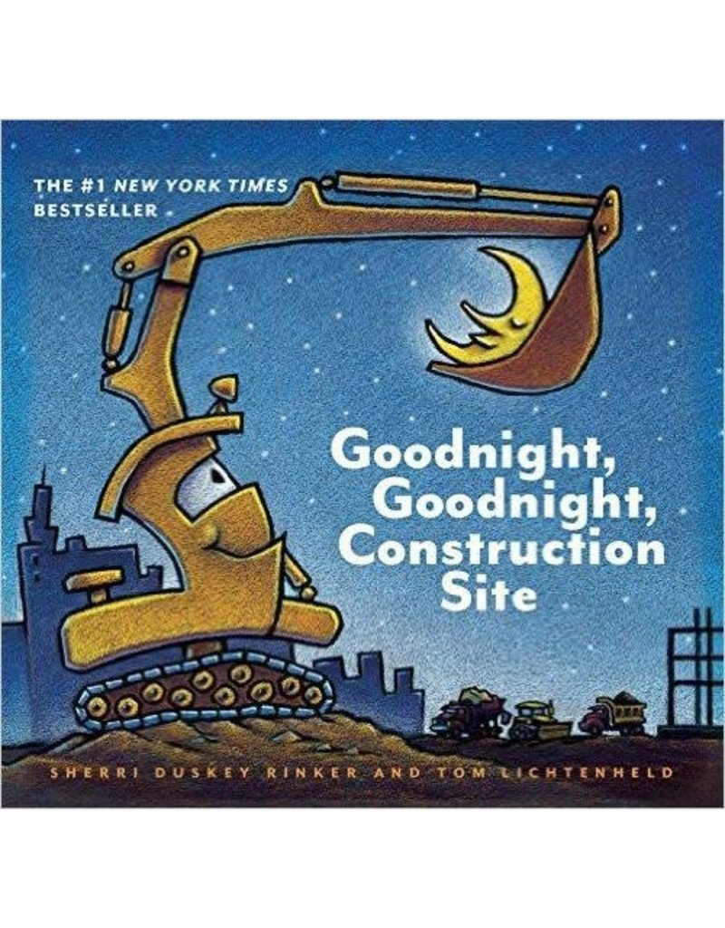 Pajamas w/Book, Goodnight Construction Site