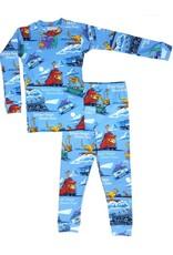 Pajamas, w/Book, Steam Train, Dream Train,