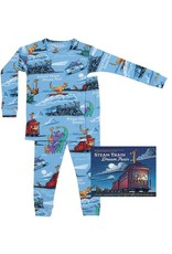 Pajamas, w/Book, Steam Train, Dream Train,