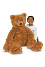 Teddy Bear, Brown, Plush, Large