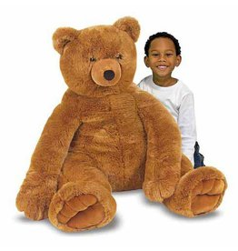 Teddy Bear, Brown, Plush, Large