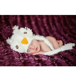 Hat, Kasper Snow Owl, Boy/Girl Knit