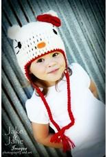 Hat, Jane Hello Kitty, Crocheted