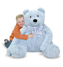 Bear, Jumbo Teddy, Plush,