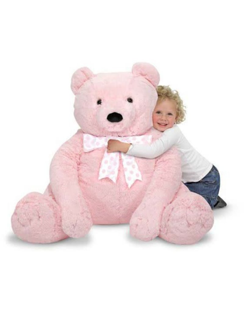 Bear, Jumbo Teddy, Plush
