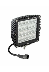 "Heise Heise- 5.5"" Square Driving Light"