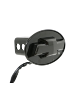 """Reese Reese- Chevy Bowtie LED Lighted Trailer Hitch Cover - 1-1/4"""" and 2"""" Hitches - Black-86530"""