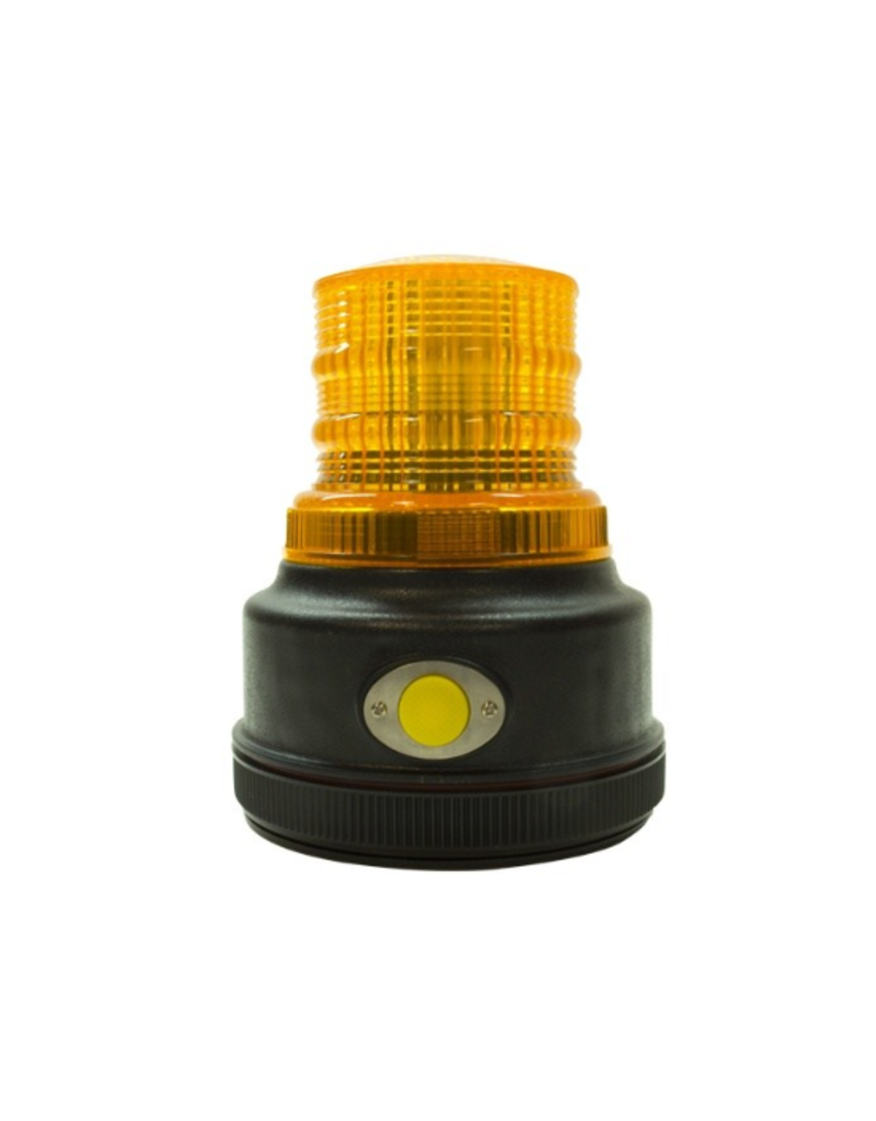 Blazer Blazer- Amber Warning Beacon - LED - Battery Powered - Magnetic Mount - 4 Flash Patterns -C43A
