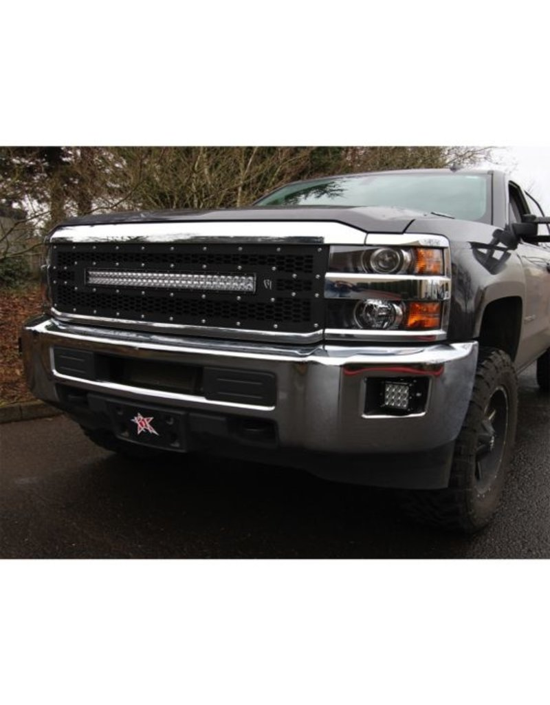 Rigid Industries Rigid Industries - 15-17 Chevy 2500/3500 Fog Mt - 46535
