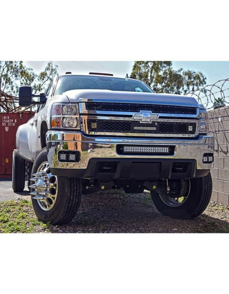 Rigid Industries Rigid Industries - 11-14 Chev 2500/3500 20''E/Sr Mt - 40339