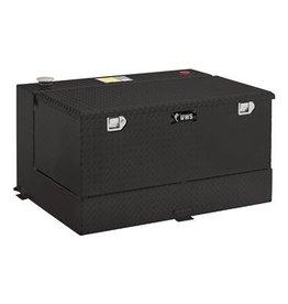 UWS UWS- Transfer Tank/ Tool Box Unit,Black; Aluminum-TT-101-CB-B