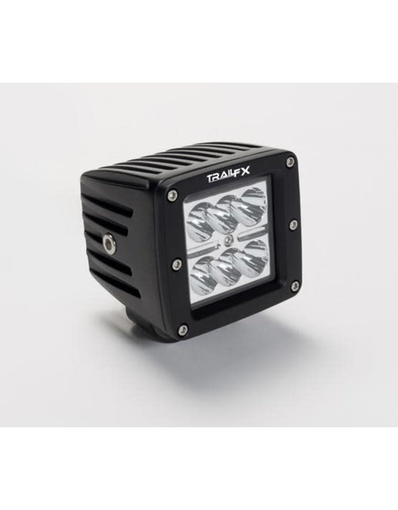 TrailFX Trail FX Lights- 2x3 18W Cube Single Spot - 2123131