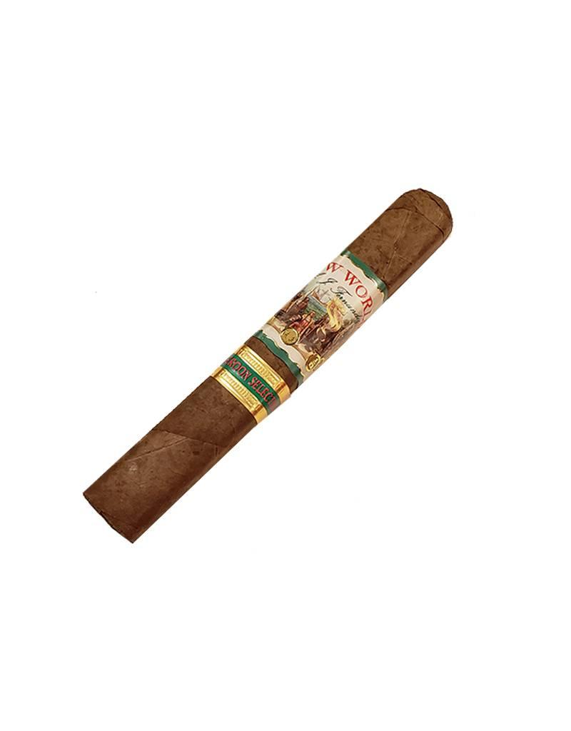 A.J. Fernandez AJF New World Cameroon Doble Robusto BOX