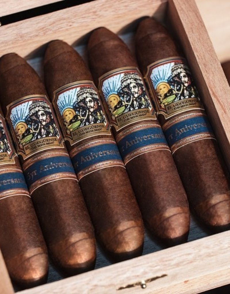 Foundation Cigar Company El Gueguense 5 Year Aniversario Perfecto Box
