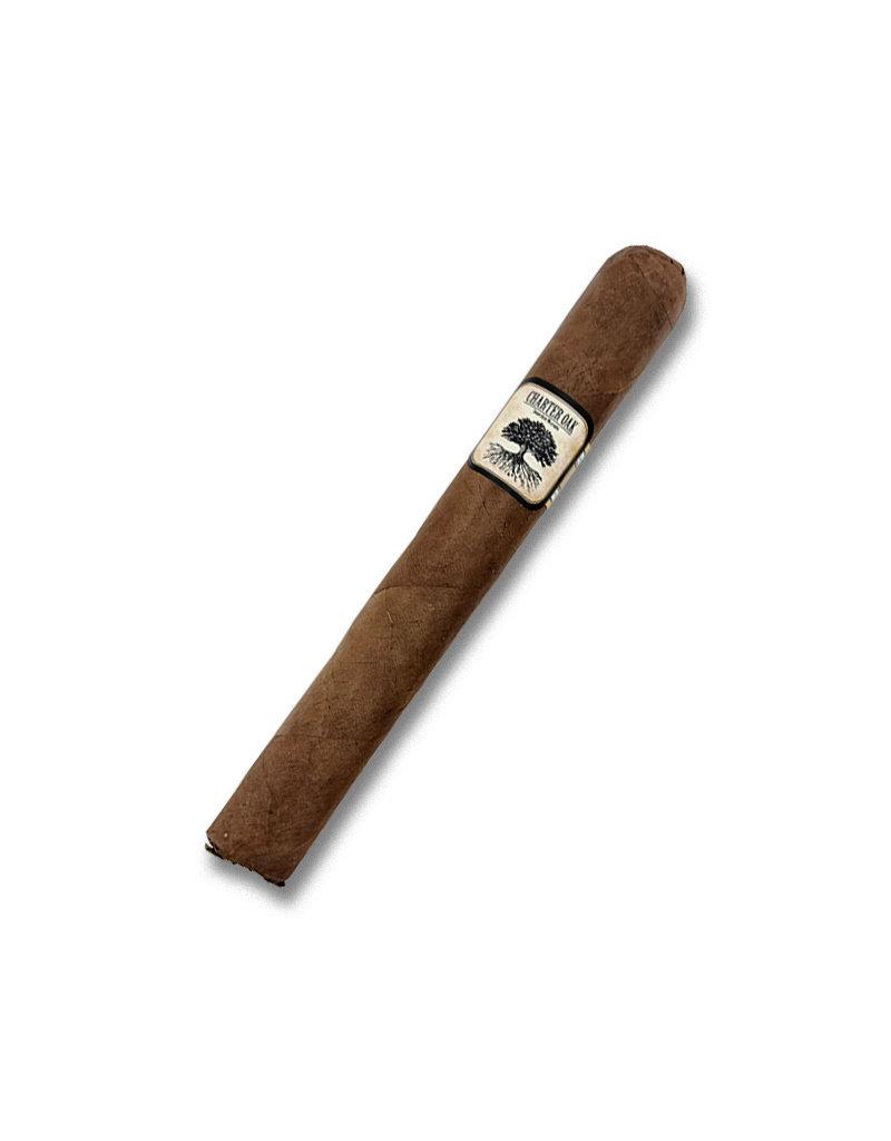 Foundation Cigar Company Charter Oak Habano Toro BOX