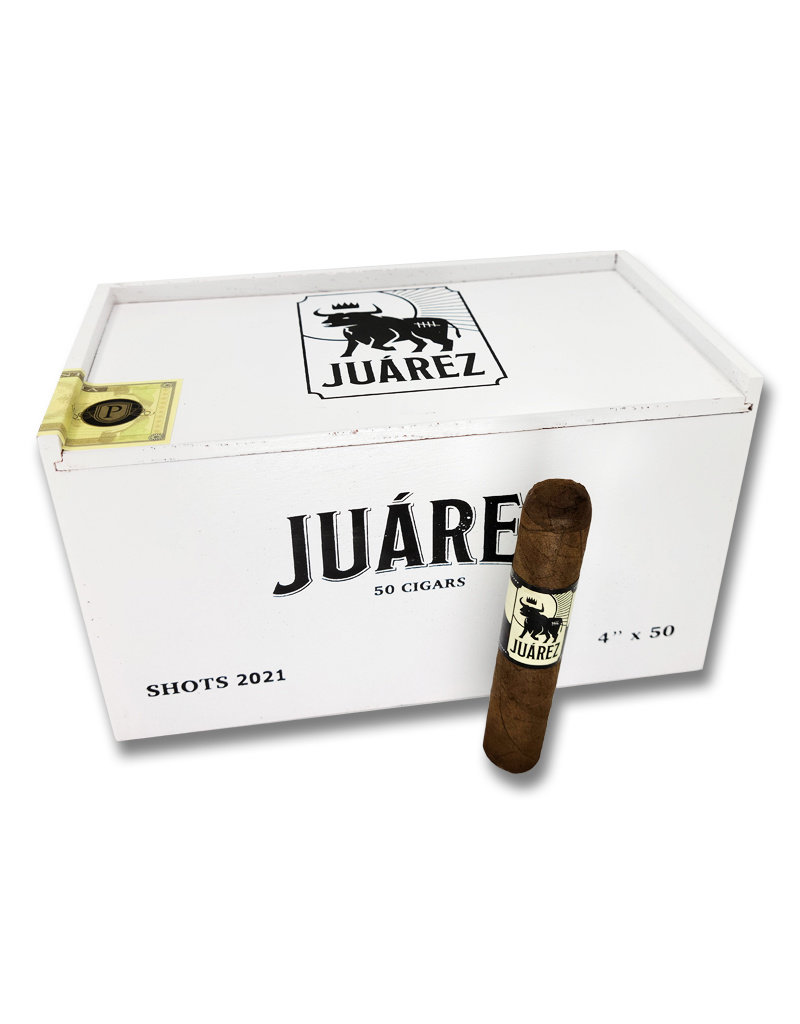 Crowned Heads Juarez Shots 2021 BOX