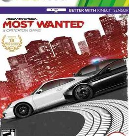 Need for Speed: Most Wanted - XB360 PrePlayed