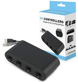 Wii U / Switch USB to 4 Port Gamecube Controller Adapter