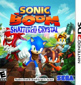 Sonic Boom: Shattered Crystal - 3DS NEW