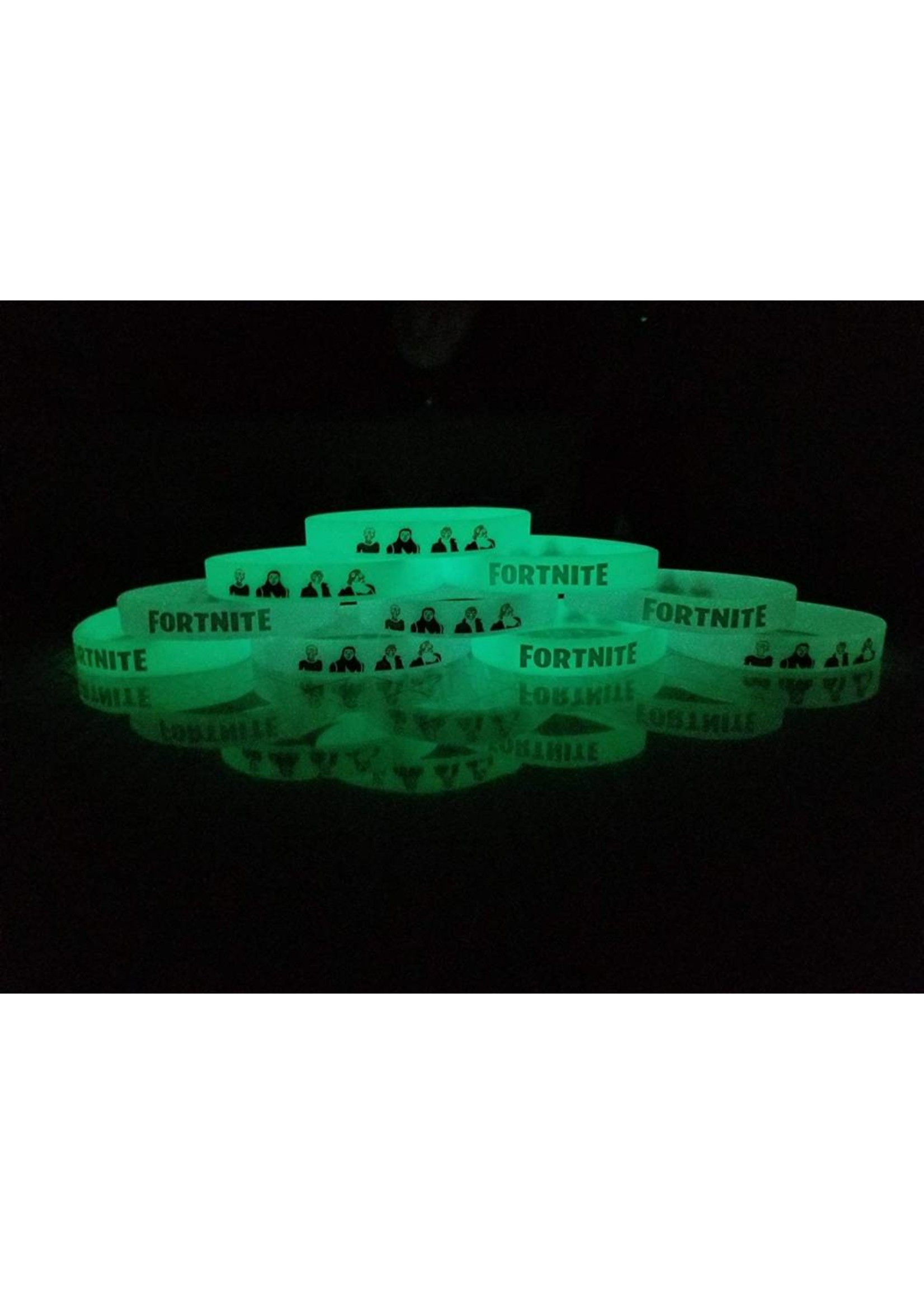 Fortnite Bracelet Glow in the Dark (1 PC)