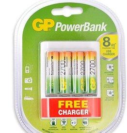 GP GP Powerbank Charger w/4 AA Battery