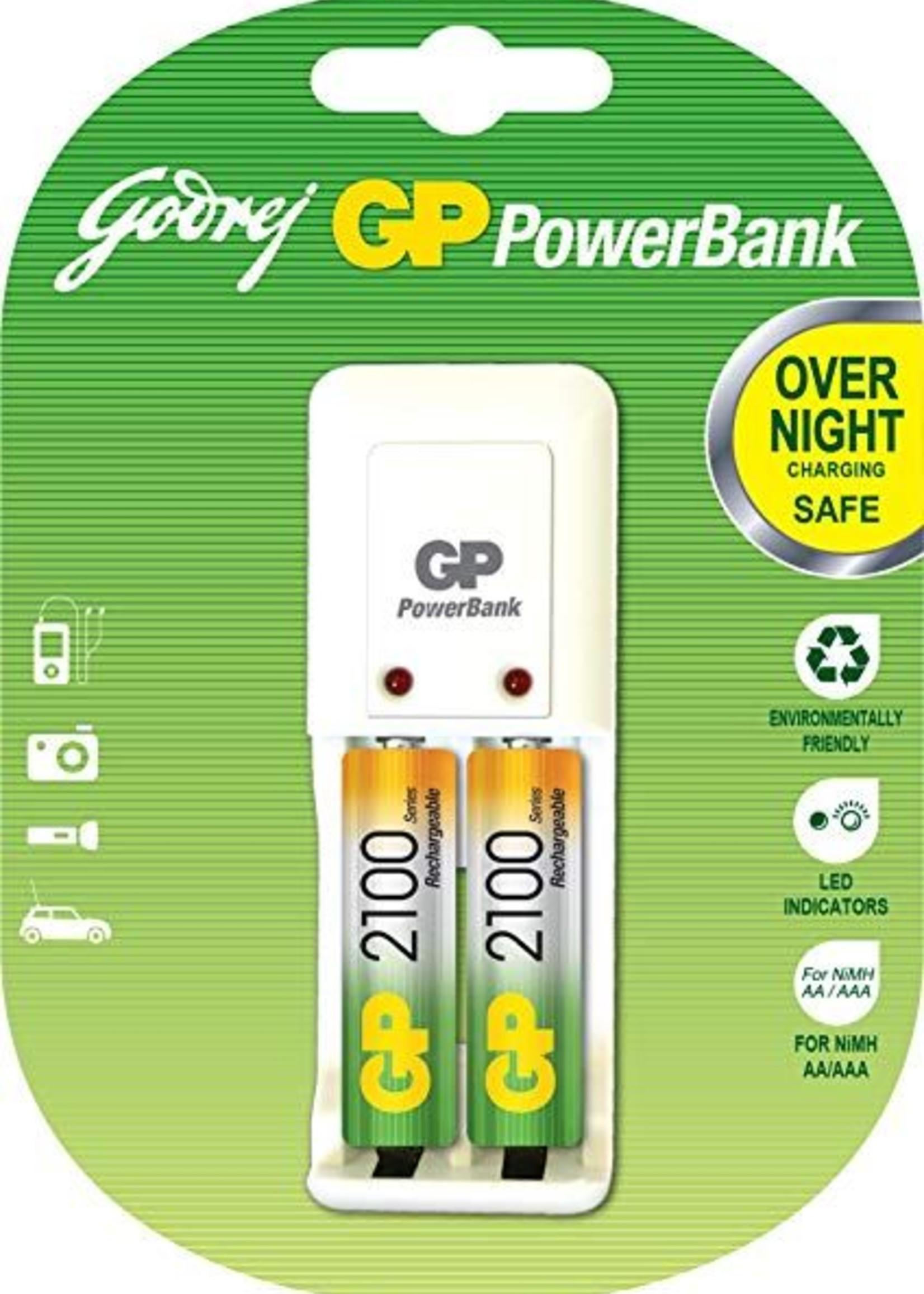 GP GP Powerbank w/2 AA Battery