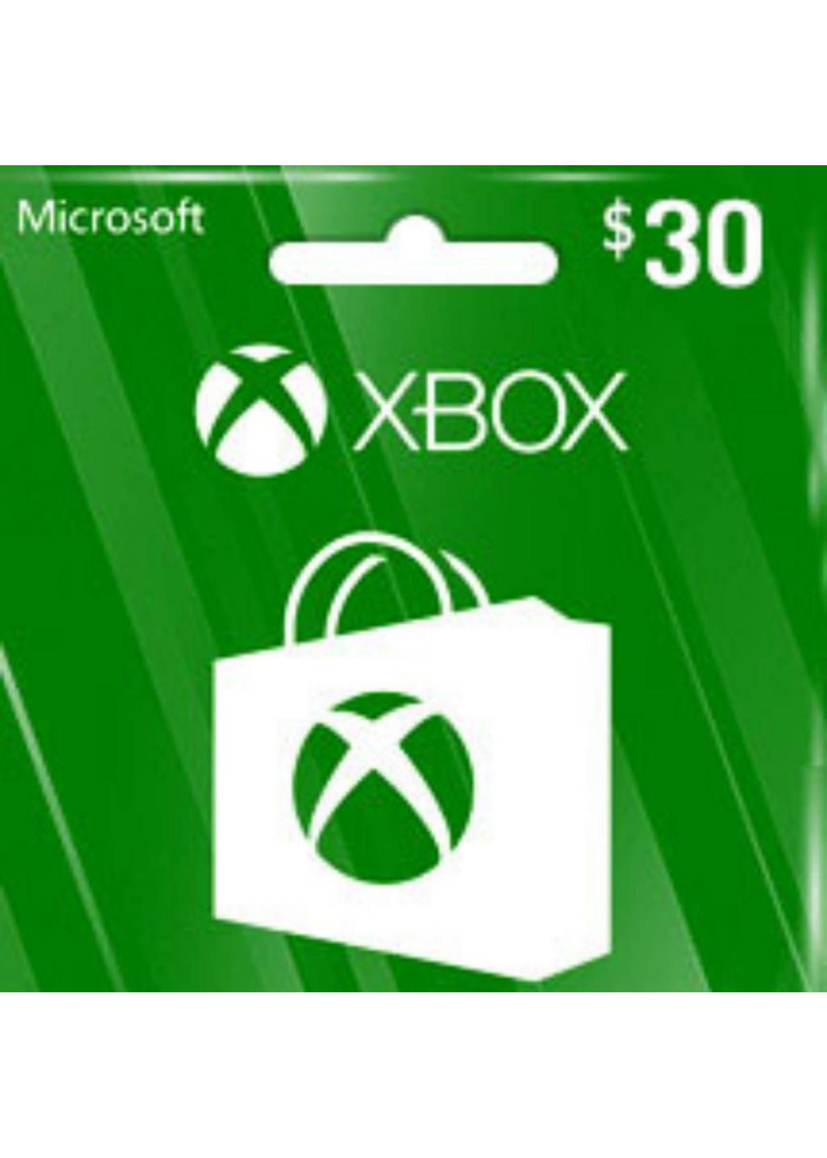 Microsoft Microsoft XBOX $30