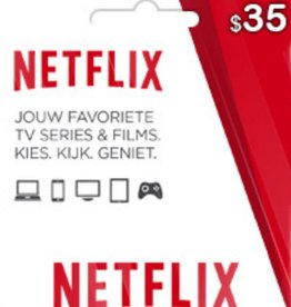 Netflix $35 Gift Card