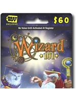 Wizard 101 $60 Gift Card