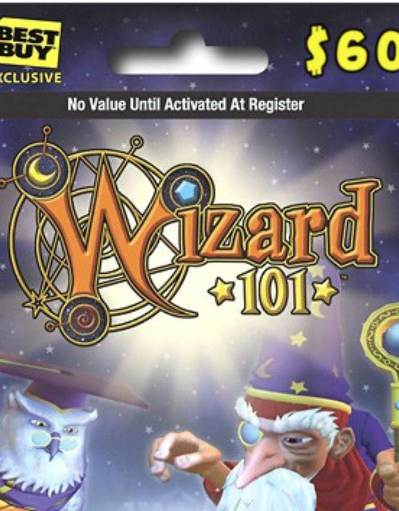 Wizard 101 60 Gift Card