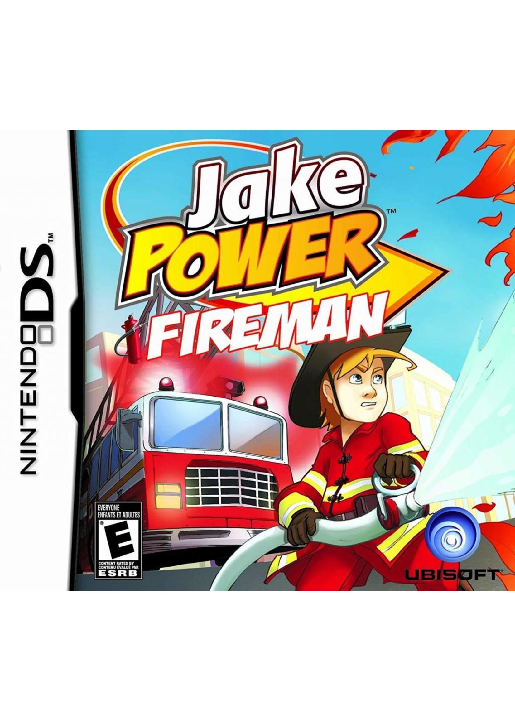 Jake Power Fireman - NDS PrePlayed