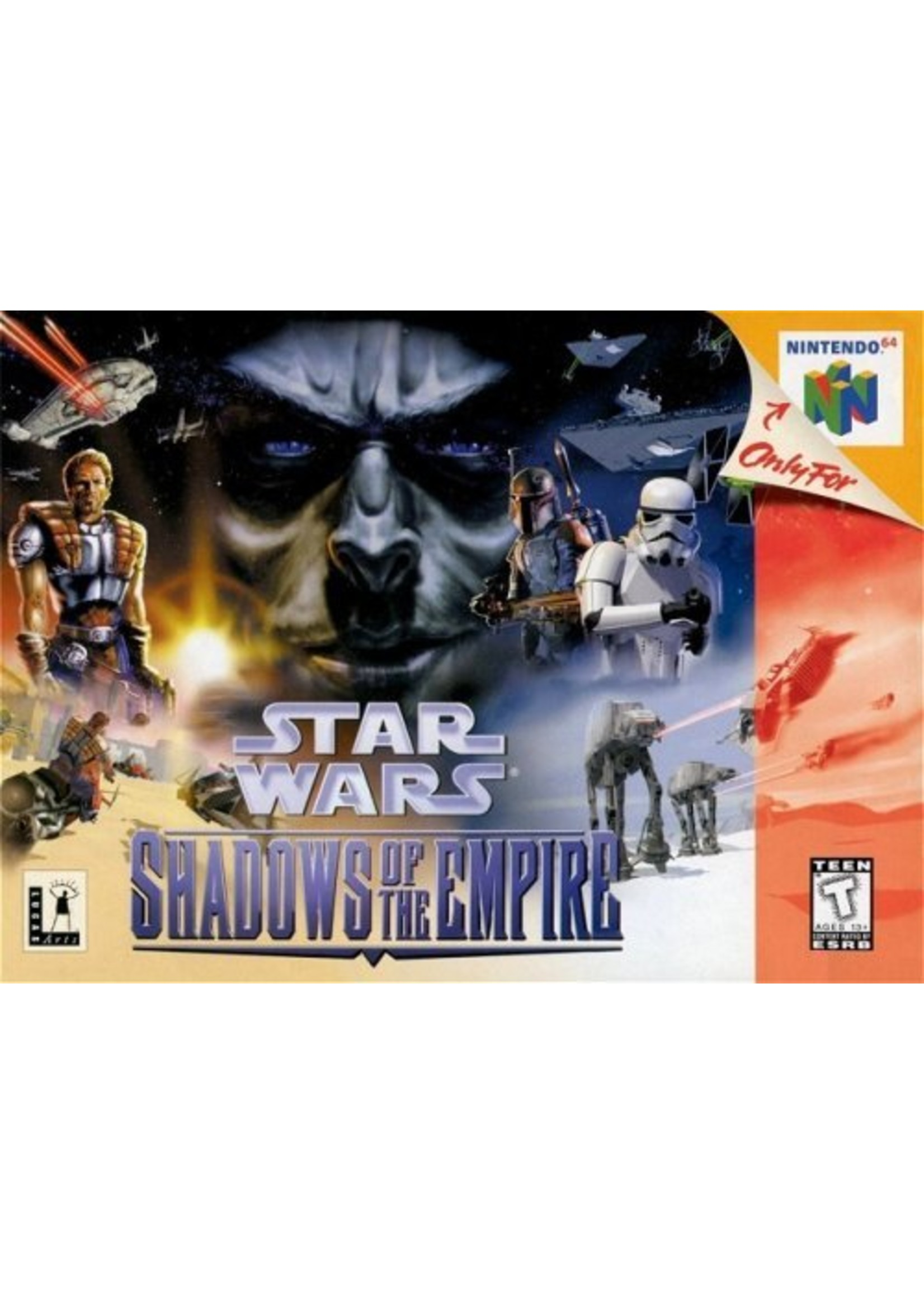 Star Wars: Shadows of the Empire - N64 PrePlayed