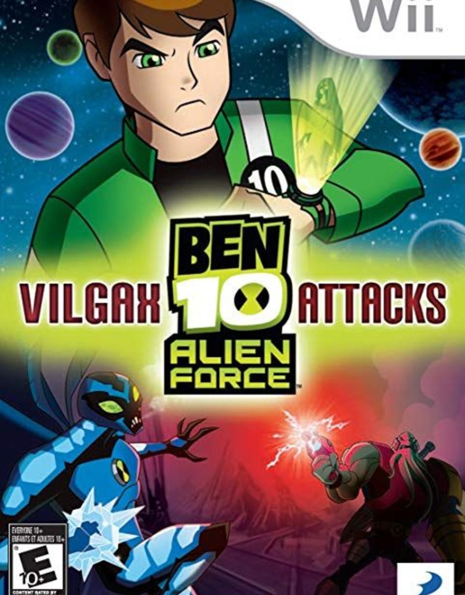 Ben 10: Vilgax Attacks - WII PrePlayed