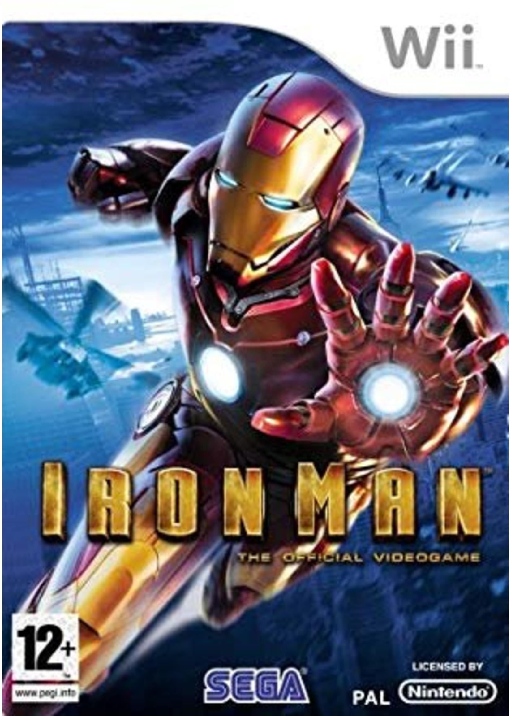 Iron Man - WII PrePlayed