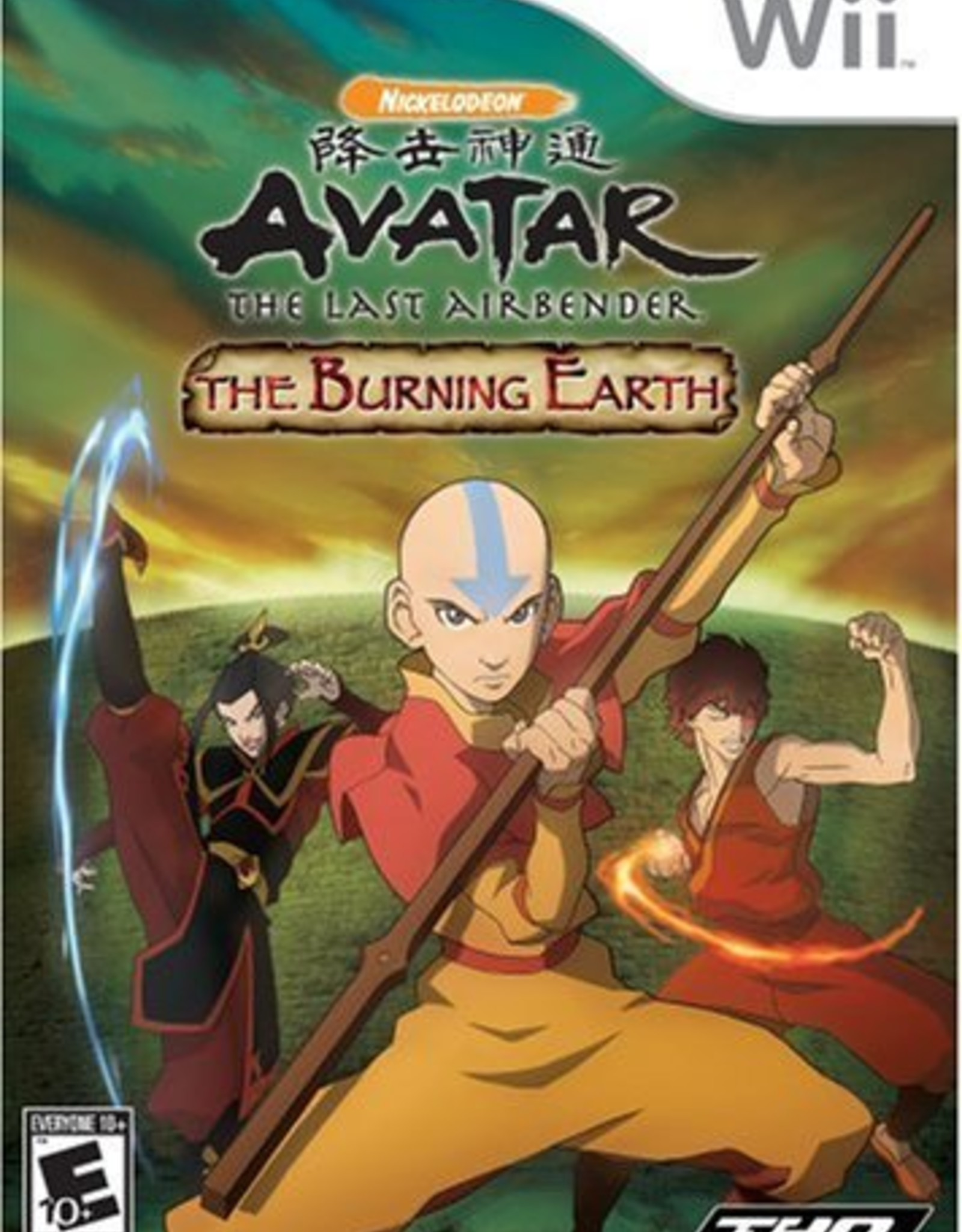 Avatar: The Burning Earth - WII PrePlayed