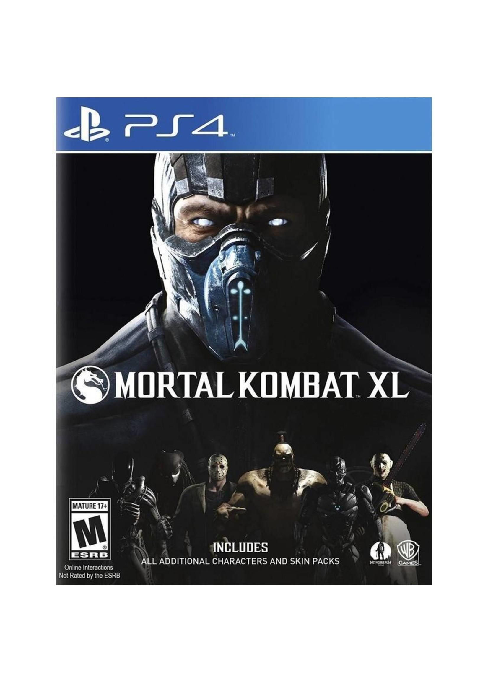 Mortal Kombat XL Edition - PS4 PrePlayed