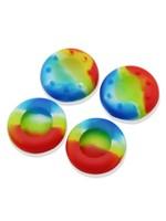 Thumb Grip Analog Cover Universal Rainbow (2 pcs)