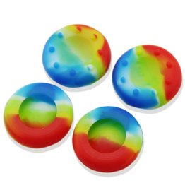 Thumb Grip Analog Cover Universal Rainbow (2 pcs)