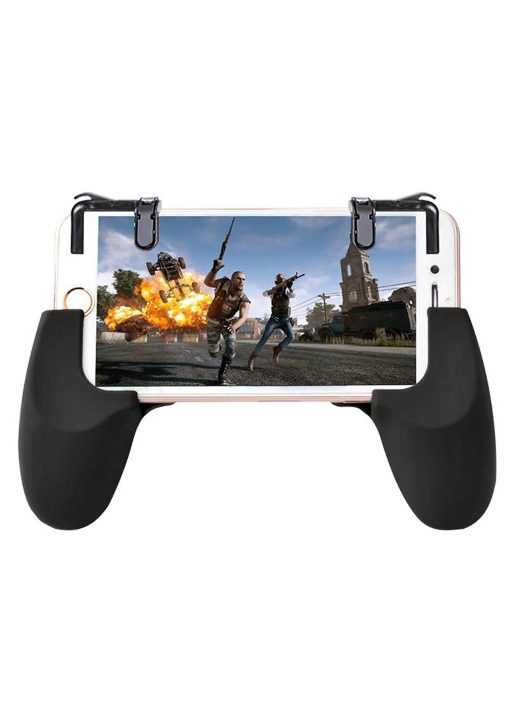 L1R1 L2R2 Mobile Game 4 Trigger Gamepad Controller w/ Cooling