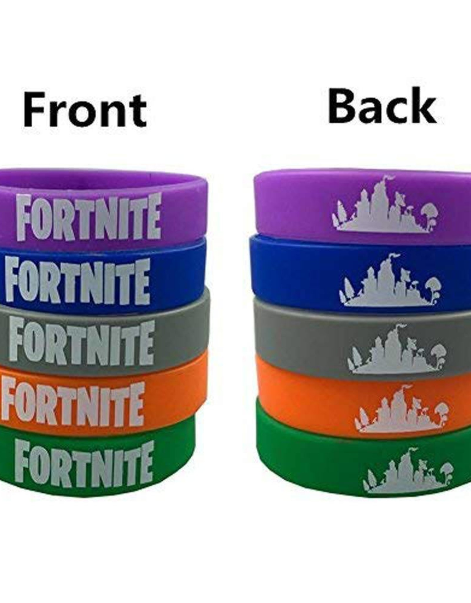 $5 Wrist Band Bracelet (1 PC) (Fortnite / Game / Motivational)
