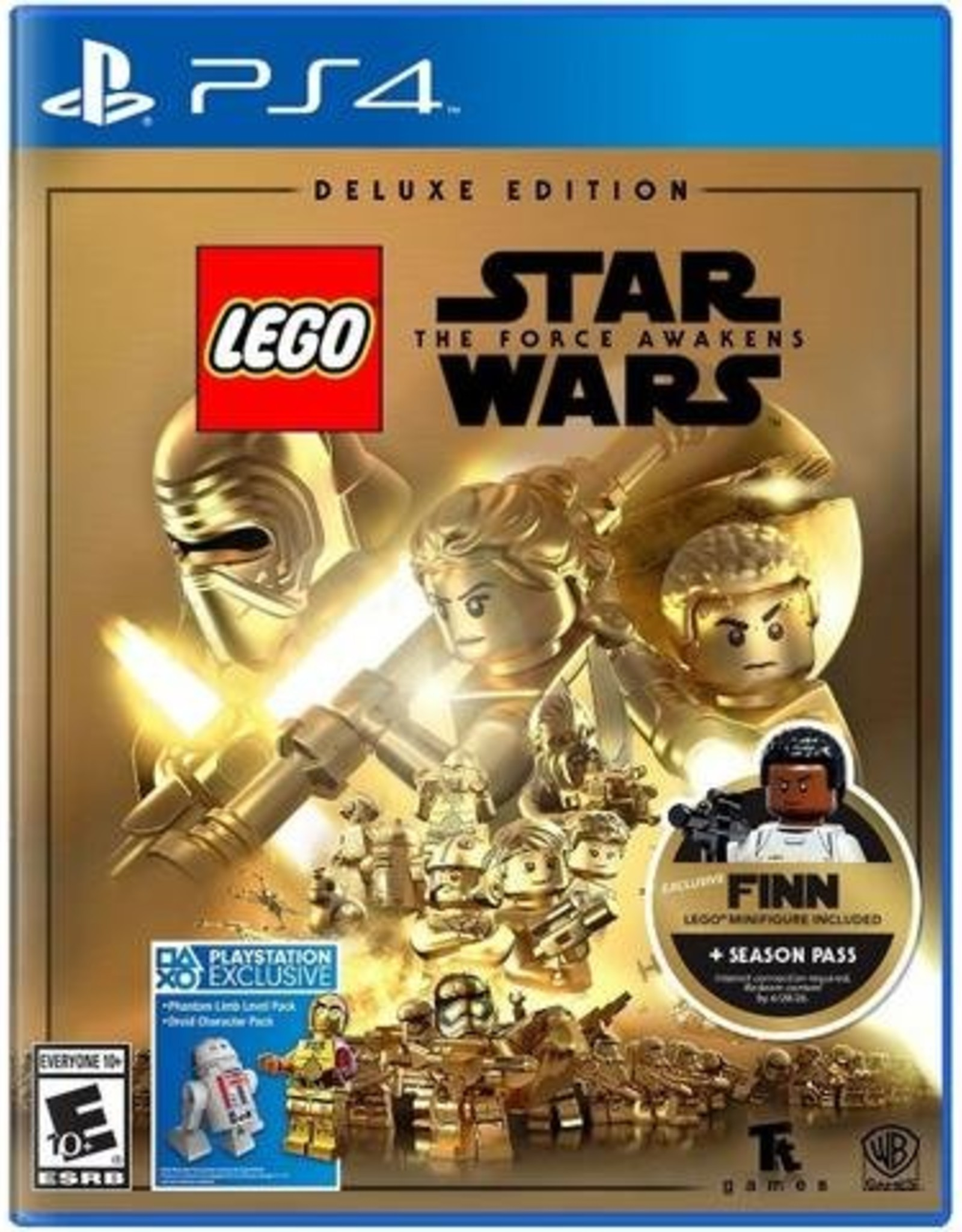 LEGO Star Wars Force Awakens Deluxe Edition - PS4 NEW