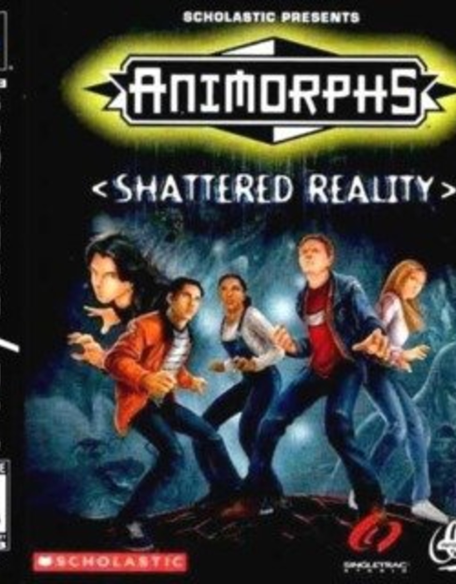 Animorphs Shattered Reality - PS1 PrePlayed