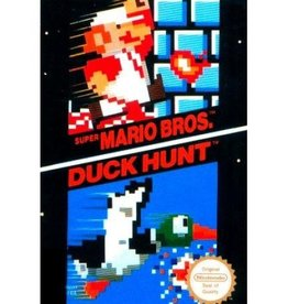 Mario Bros and Duck Hunt - NES PrePlayed