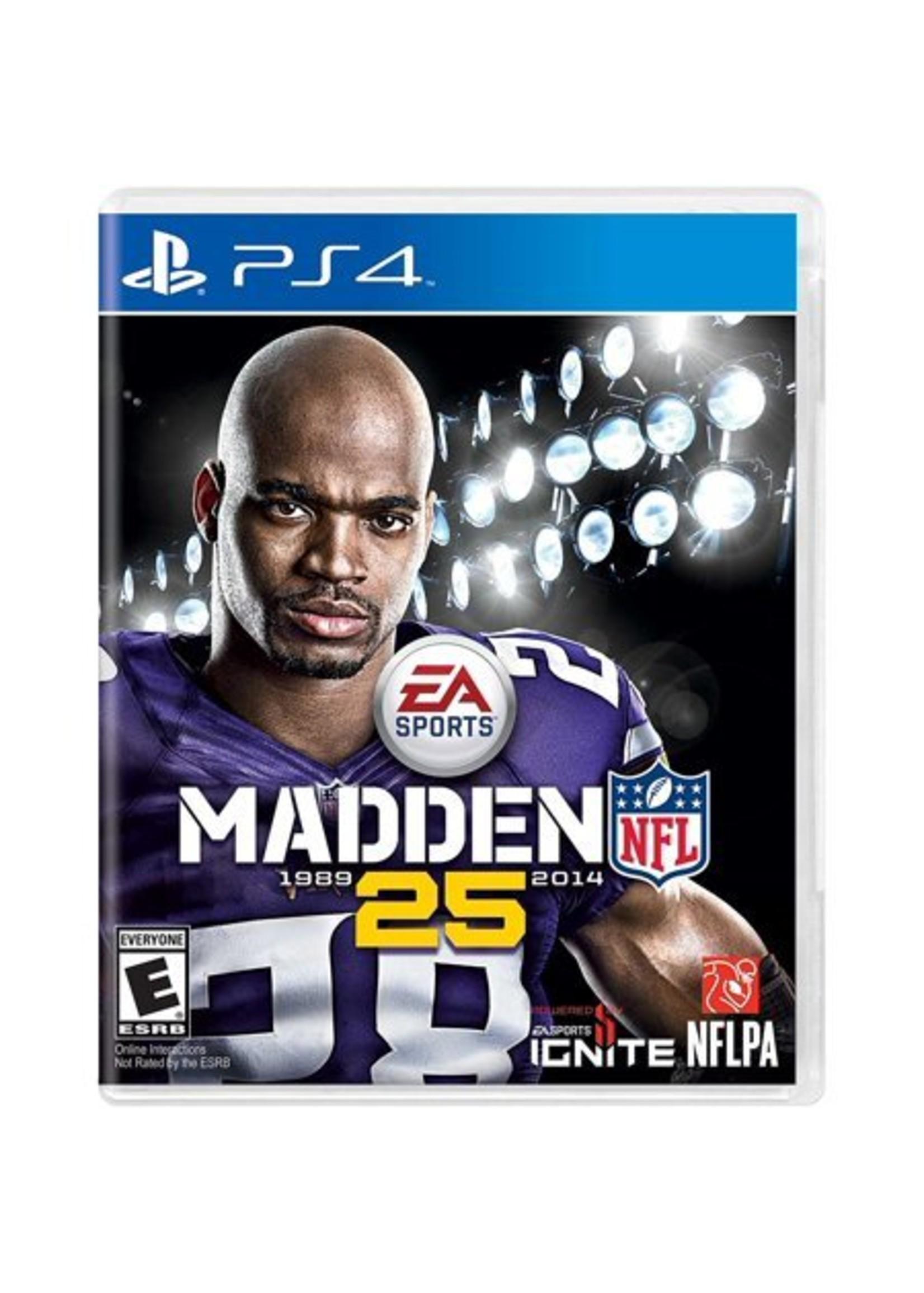 Madden 25 - PS4 PrePlayed