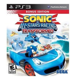 Sonic & All Stars Racing Transformed - PS3 PrePlayed