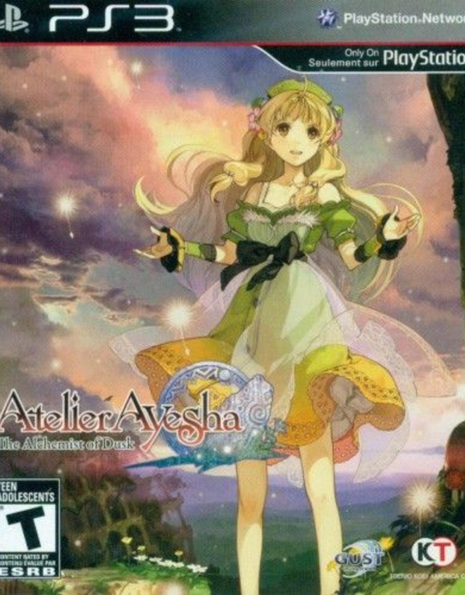 Atlelier Ayesha The Alchemist of Dusk - PS3 PrePlayed