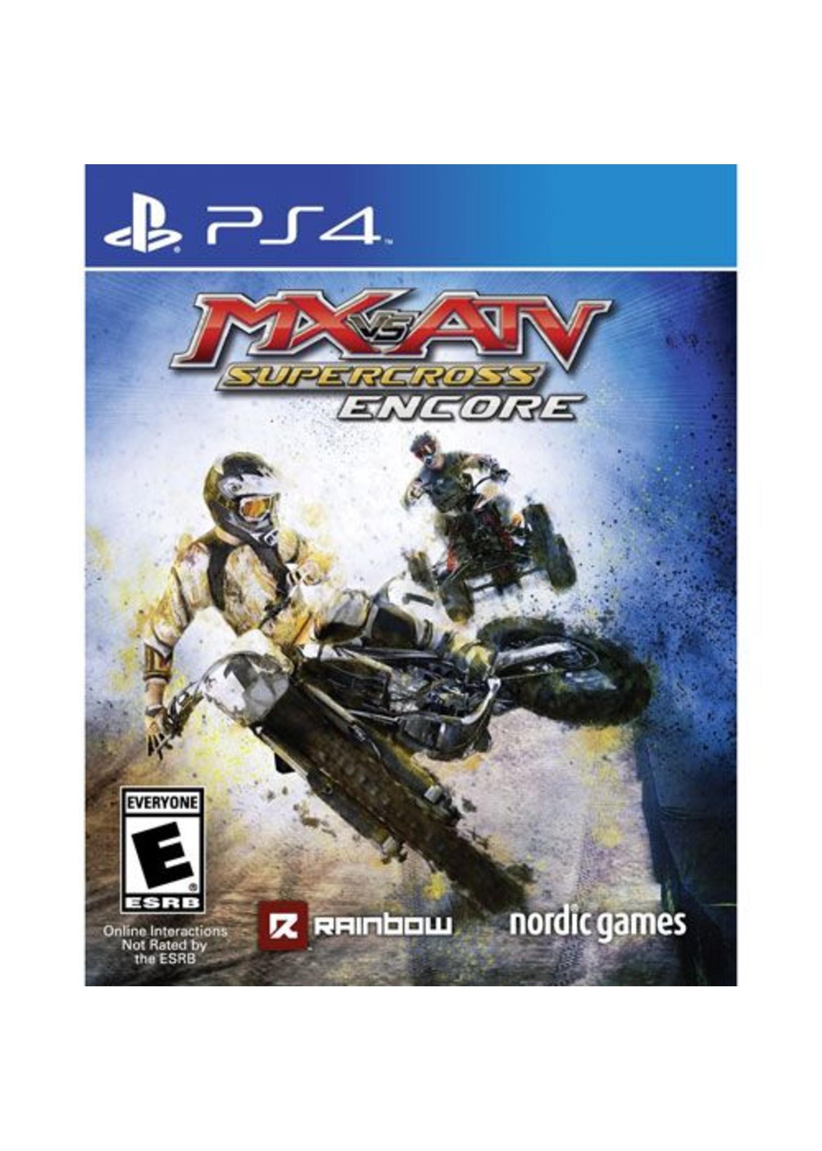 MX vs ATV Supercross Encore - PS4 PrePlayed