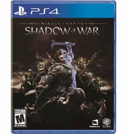 Middle Earth Shadow of Mordor - PS4 PrePlayed