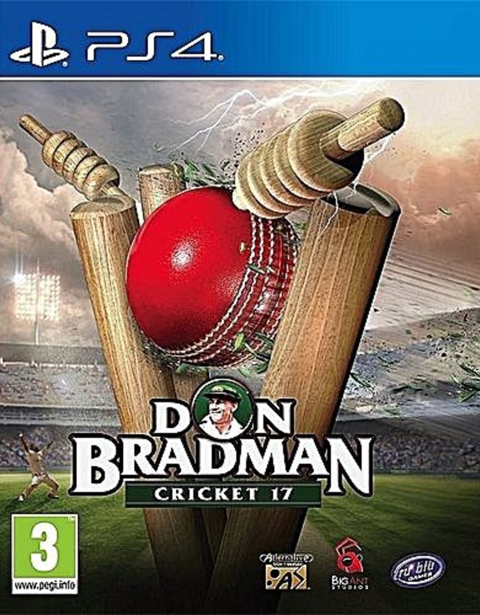 Don Bradman Cricket 17 - PS4 PrePlayed